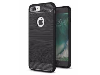 iPhone 7 Plus Carbon Gummi Hülle Thin TPU Case Cover flexibel stabil