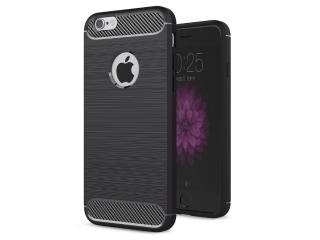 iPhone 6S Plus Carbon Gummi Hülle Thin TPU Case Cover flexibel stabil