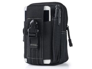 Outdoor Handy Hüfttasche & Gürteltasche für Smartphone, iPhone schwarz