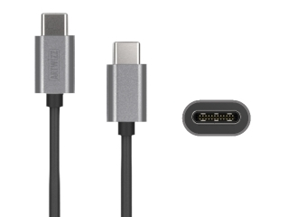 "Artwizz USB-C Ladekabel 1 Meter schwarz für Macbook 12"" 13"" 15"" 2016"