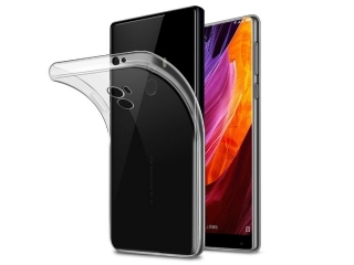 Xiaomi Mi Mix Thin Clear Hülle Cover Gummi transparent Case