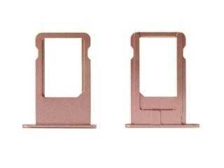 iPhone 6 Sim Tray Karten Schublade Adapter Schlitten - roségold