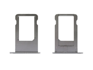 iPhone 6 Sim Tray Karten Schublade Adapter Schlitten - spacegray