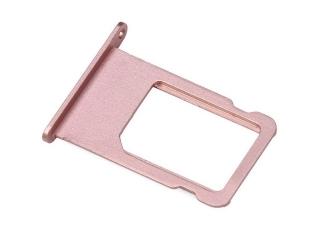 iPhone 6S Sim Tray Karten Schublade Adapter Schlitten - roségold