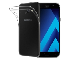 Gummi Hülle zu Samsung Galaxy A5 (2017) flexibel dünn transparent thin