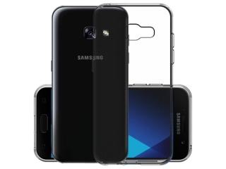 Gummi Hülle zu Samsung Galaxy A7 (2017) flexibel dünn transparent thin