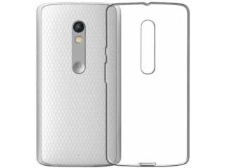 Gummi Hülle Lenovo Moto X Style flexibel dünn transparent thin clear