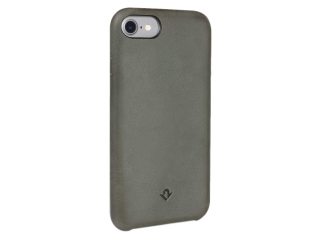 Twelve South Relaxed Leather Vintage Echtleder Hülle iPhone 8 herb