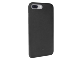 Twelve South Relaxed Leather Vintage Leder Case iPhone 8 Plus schwarz
