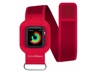 Twelve South ActionSleeve Neopren Armband für 38mm Apple Watch rot