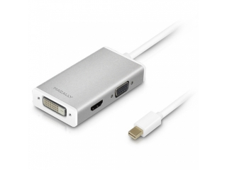Macally Mini-DisplayPort zu DVI/HDMI/VGA Adapter Kabel Ultra HD 4K