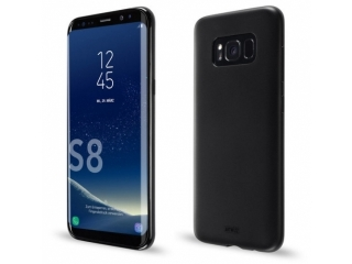 Artwizz TPU Gummi Case Samsung Galaxy S8 Ultrathin Hülle in schwarz