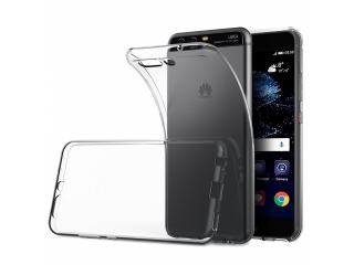 Gummi Hülle zu Huawei P10 Plus dünn transparent flex thin clear case