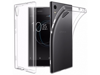 Sony Xperia XA1 Ultra - Gummi Hülle dünn transparent thin clear case