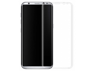 Galaxy S8 Vollbild 3D Panzerglas Curved Displayschutz Glasfolie Clear