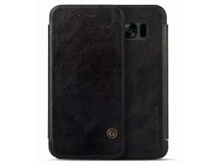 G-Case Samsung Galaxy S8+ Ledertasche Business Flipcover Case schwarz