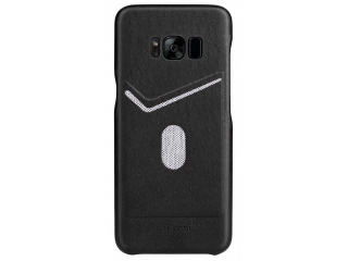 G-Case Jazz Series Samsung Galaxy S8 schlankes Leder Case - schwarz