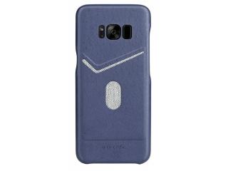 G-Case Jazz Series Samsung Galaxy S8+ schlankes Leder Case - blau