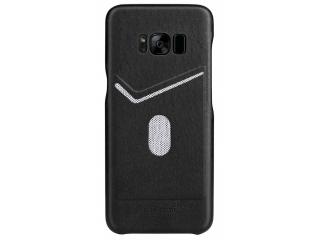 G-Case Jazz Series Samsung Galaxy S8+ schlankes Leder Case - schwarz