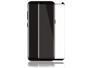 Samsung Galaxy S8 3D Panzerglas Case Friendly Full Coverage - schwarz