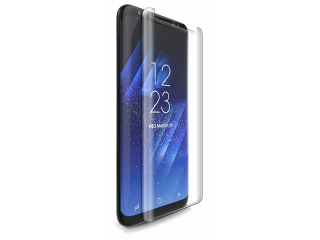 Samsung Galaxy S8 3D Panzerglas Case Friendly Full Coverage - clear