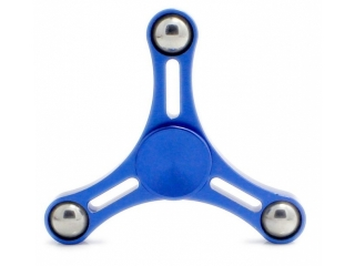 Fidget Spinner Air Jordan Aluminium Anti-Stress Spinner blau
