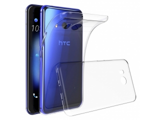 Gummi Hülle für HTC U11 Cover flexibel dünn transparent thin clear