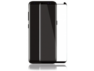Samsung Galaxy Note 8 3D Panzerglas CaseFriendly Full Coverage schwarz
