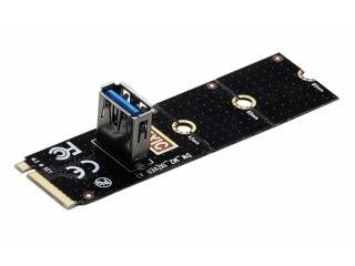 M.2 PCI Express zu PCI-E Express (USB 3.0) Riser Card für M.2 Slots