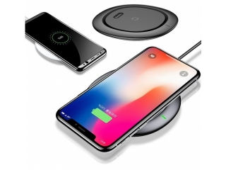 Baseus Wireless Qi Charger Ladestation für iPhone X, iPhone 8 schwarz