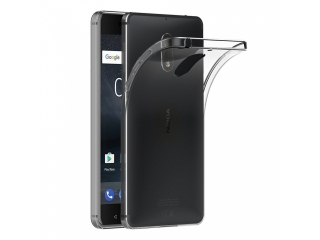 Gummi Hülle zu Nokia 6 flexibel dünn transparent thin clear case