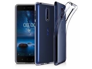 Gummi Hülle zu Nokia 8 flexibel dünn transparent thin clear case