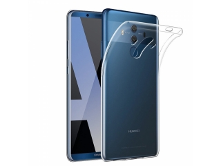 Gummi Hülle zu Huawei Mate 10 Pro flexibel dünn transparent thin clear