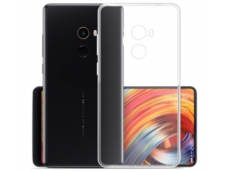 Gummi Hülle Xiaomi Mi Mix 2 flexibel dünn transparent thin clear case