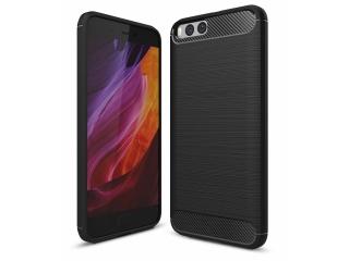 Xiaomi Mi 6 Carbon Gummi Hülle TPU Case Cover flexibel schwarz