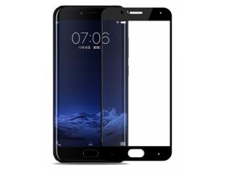 Xiaomi Mi 6 100% Vollbild Panzerglas Schutzfolie 0.23mm 2.5D schwarz