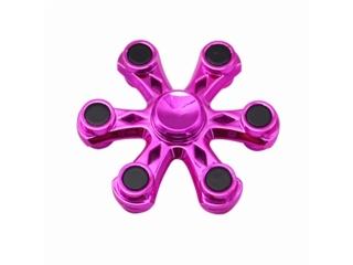 Fidget Spinner Six Star Flower - 6 Sternen Blume - pink