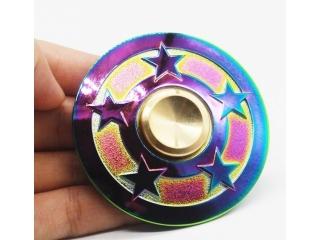 Five Star Rainbow Fidget Spinner Premium Spinner in Regenbogen Farben