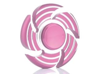 Wirbelwind Sturm Cyclone Premium Fidget Spinner aus Aluminium - rosa