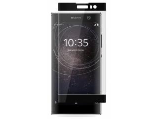 Sony Xperia XA2 100% Vollbild Panzerglas Schutzfolie 0.23mm schwarz