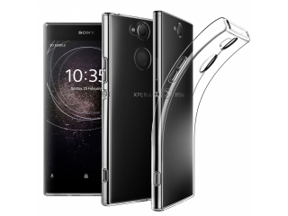 Sony Xperia XA2 Ultra Gummi Hülle dünn transparent thin clear case