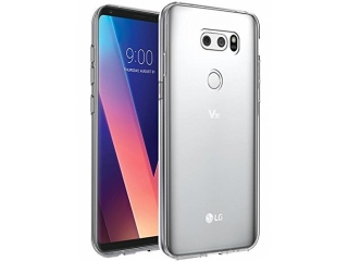 Gummi Hülle zu LG V30 flexibel dünn transparent thin clear case