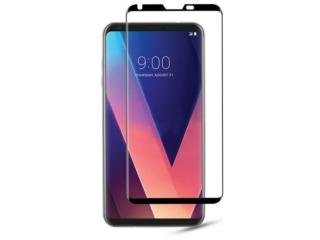 LG V30 100% Vollbild 3D Panzerglas Curved Displayschutz Glasfolie