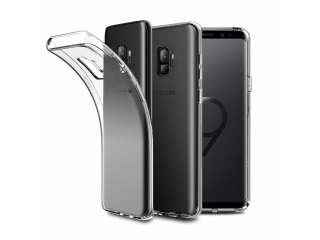 Gummi Hülle zu Samsung Galaxy S9 flexibel dünn transparent thin clear