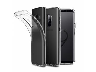 Gummi Hülle zu Samsung Galaxy S9+ flexibel dünn transparent thin clear