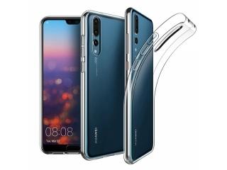 Gummi Hülle zu Huawei P20 Pro flexibel transparent thin clear case
