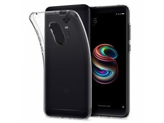 Gummi Hülle Xiaomi Redmi 5 Plus flexibel dünn transparent thin clear