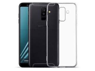 Gummi Hülle zu Samsung Galaxy A6+ (2018) flexibel dünn transparent