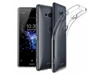 Gummi Hülle Sony Xperia XZ2 Compact flexibel dünn transparent thin