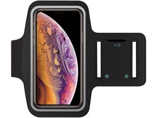 iPhone Xs Max Sportarmband Neopren + Schlüsselfach Kopfhörerschlitz